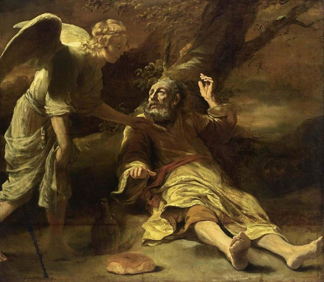 Ferdinand_Bol_-_Elijah_Fed_by_an_Angel_-_WGA2360-1035x900