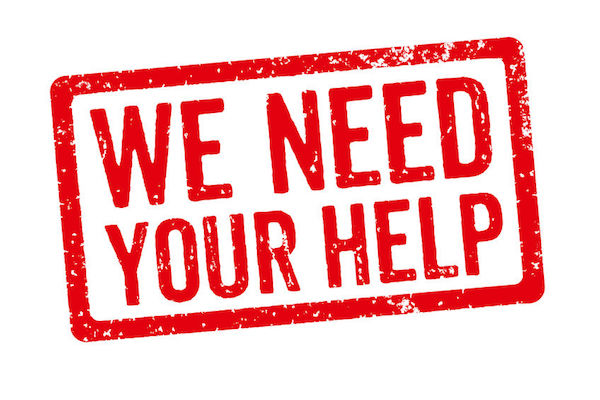 33219152 - red stamp - we need your help